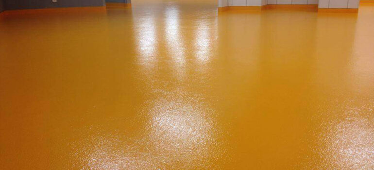 otopark zemin kaplama-portakal desen epoksi zemin
