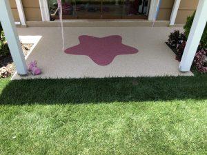 stone carpet zemin kaplama